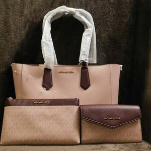 Michael Kors Kimberly Large Bonded 3 in 1 Tote